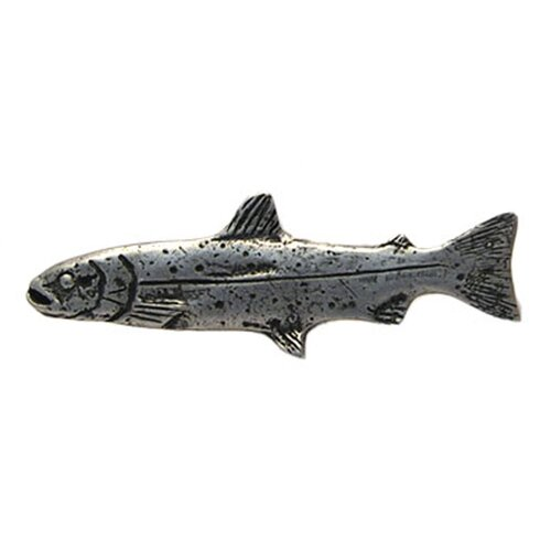 "Anne at Home Curiosities Trout 1.25"" Knob"