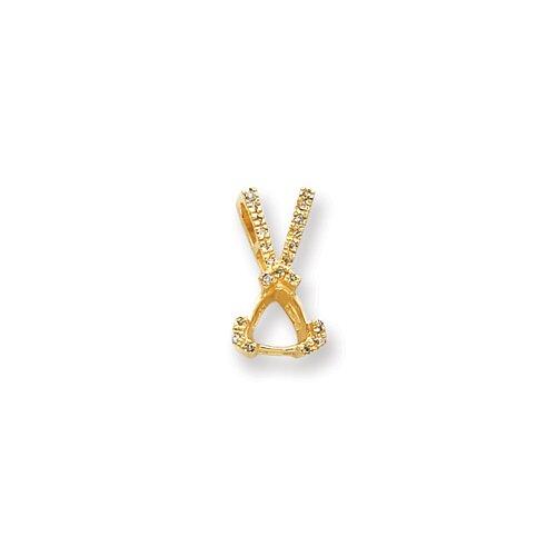 Jewelryweb 14k Diamond pendant