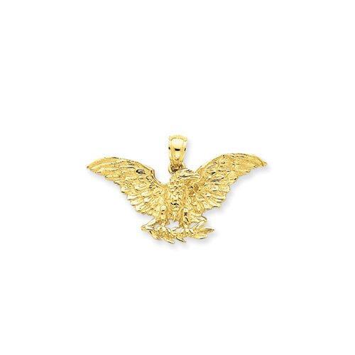 Jewelryweb 14k Eagle Pendant