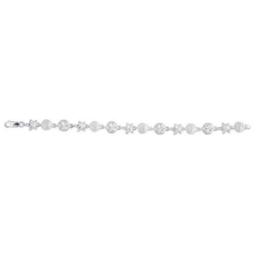 Sterling Silver Sea-Life Necklace - 17 Inch