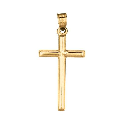 Jewelryweb 14k Gold Cross Pendant