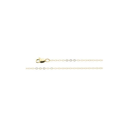 Jewelryweb 14k Yellow Gold Layered Titan Gold Cable Necklace