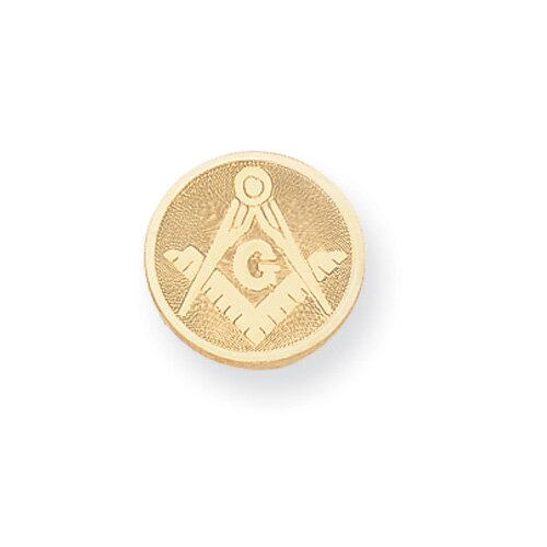 Jewelryweb Gold-plated Masonic Tie Tack