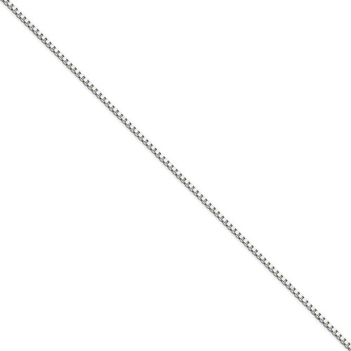 Stainless Steel 1.5mm Box Chain Necklace