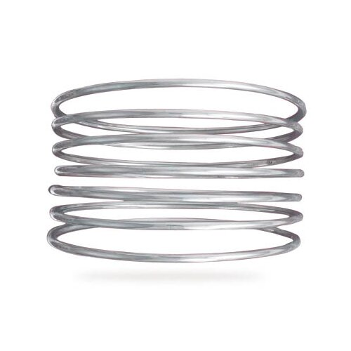 Jewelryweb Round Hollow Bangle Bracelet