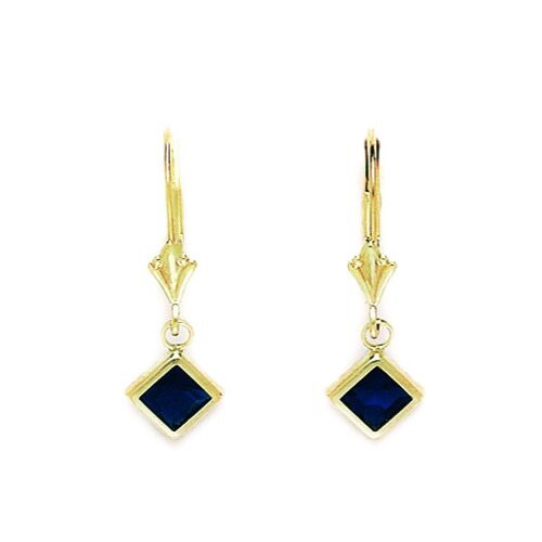 Kite Sapphire Drop Earrings