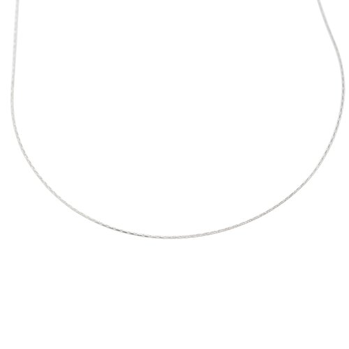 Jewelryweb Sterling Silver Chain Necklace - Lobster Claw