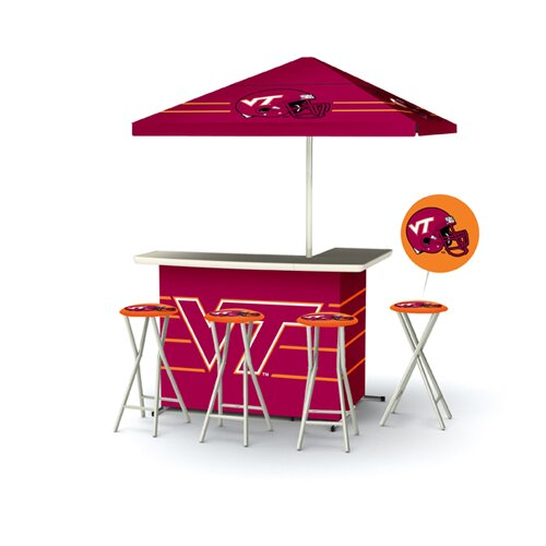 5 Piece Virginia Tech Bar Set