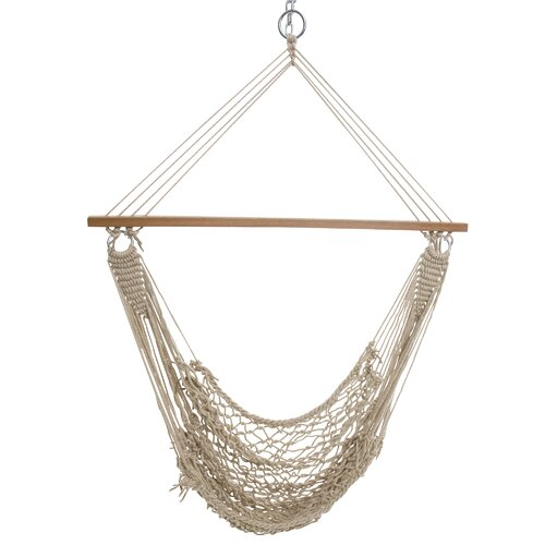 Single Cotton Rope Swing