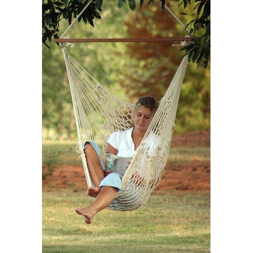 Castaway Hammocks Single Cotton Rope Swing