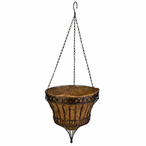Queen Elizabeth Round Parasol Hanging Basket