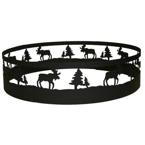 Moose Campfire Ring