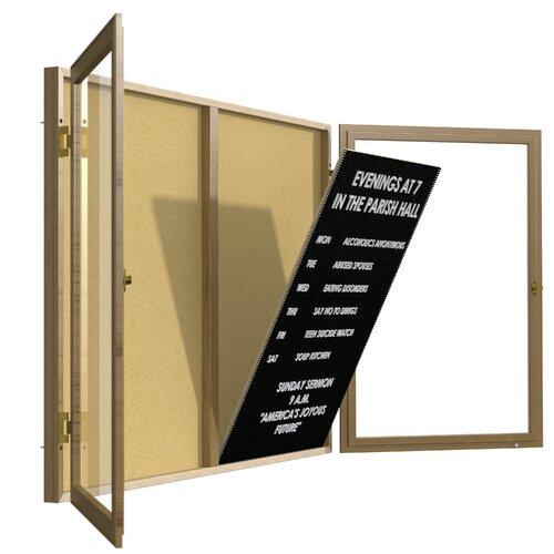 Ghent Unframed Flannel Letter Board Insert Panel