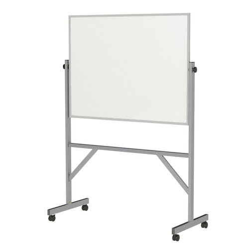 Ghent Reversible Acrylate Whiteboard with Aluminum Frame