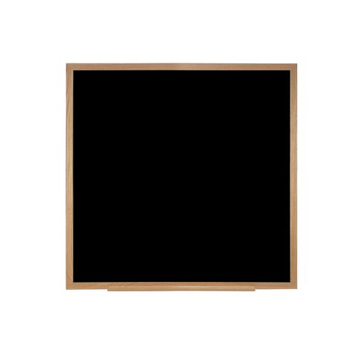 Ghent Duroslate Black Chalkboard with Wood Frame