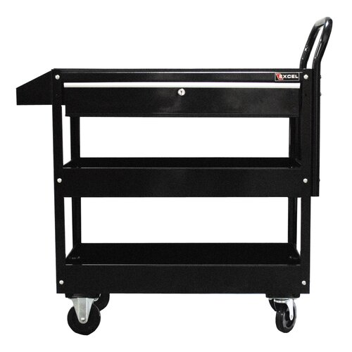 "Excel Hardware 36.8"" Metal Tool Cart"