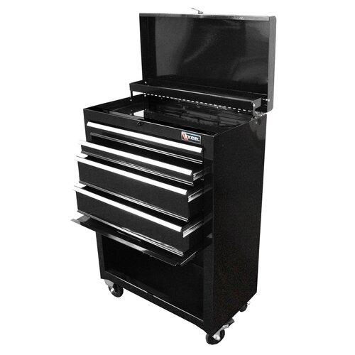 """Excel Hardware 22"""" Wide 4 Drawer Bottom Cabinet"""