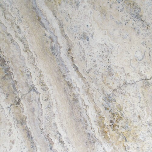 Unfilled, Chipped And Brushed Travertine Tile in Philadelphia