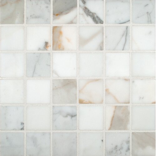 Porcelain Polished Floor And Wall Mosaic Tile Reviews Wayfair
