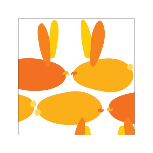 Avalisa Animals Bunnies Stretched Canvas Art