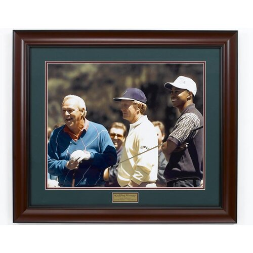 "Golf Gifts & Gallery ""Palmer, Nicklaus & Woods"" Framed Photographic Print"