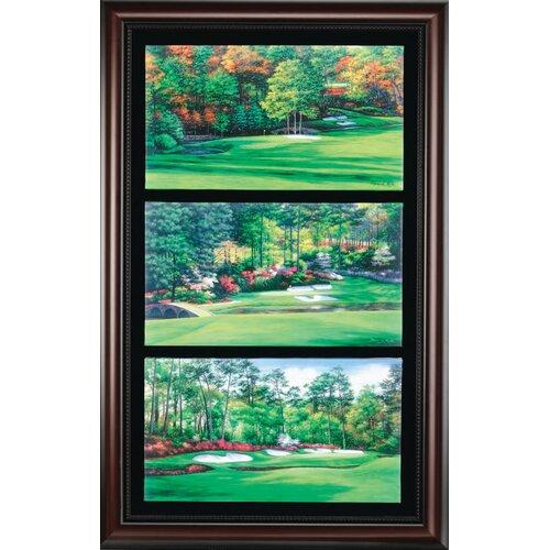 Golf Gifts & Gallery 'Augusta Amen Corner' Framed Photographic Print