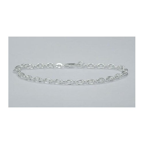Oravo Heavy Cable Chain Bracelet Sterling Silver