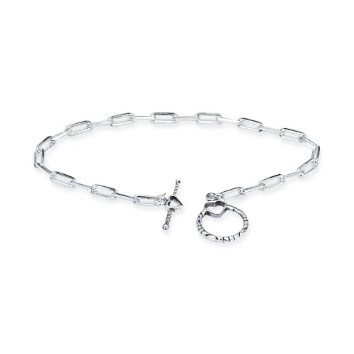 Cable Chain Toggle Bar Bracelet Sterling Silver