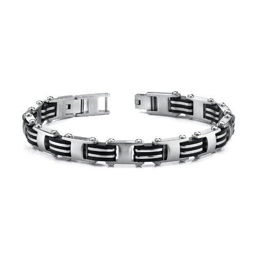 European Style Mens Stainless Steel Link Bracelet