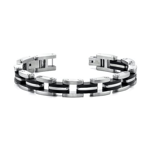 Thick and Extra Wide Mens Stainless Steel Bracelet