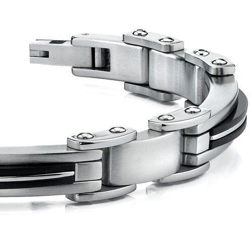 Oravo Elegant New Style Mens Stainless Steel Bracelet