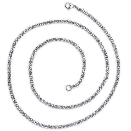 2mm Stainless Steel Rolo Chain Necklace