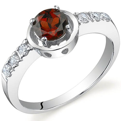 Sleek and Classy 0.50 carats Ring in Sterling Silver