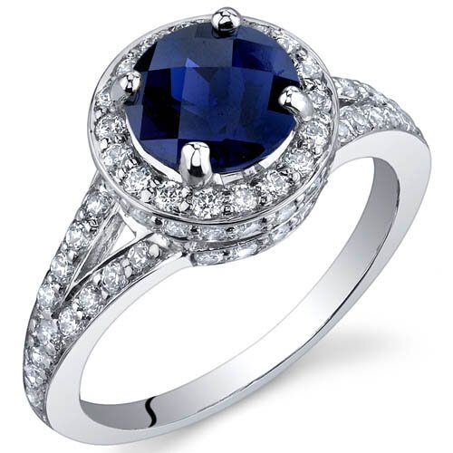 Oravo Majestic Sensation 1.25 Carats Ring in Sterling Silver