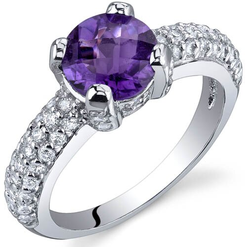 Oravo Stunning Seduction 1.25 Carats Ring in Sterling Silver