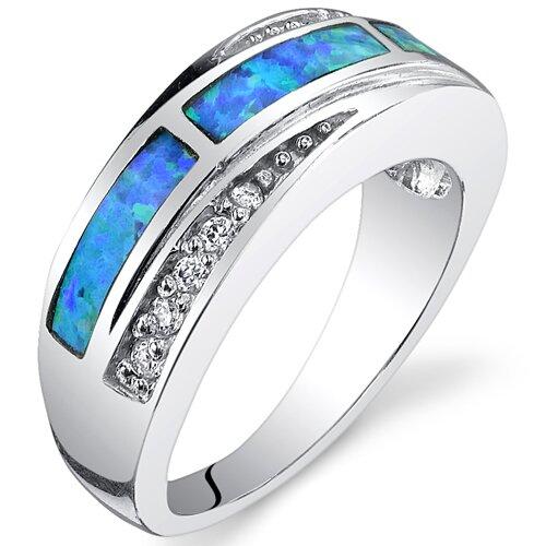 Fiery Opal Ring