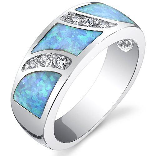 Powder Opal Ring