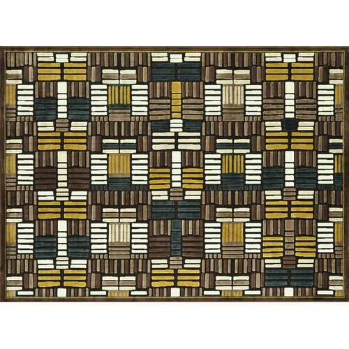 Loloi Rugs Halton Brown / Teal Rug