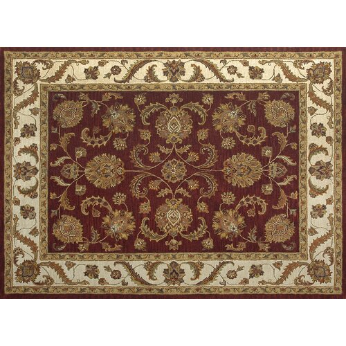 Maple Fireweed / Beige Rug