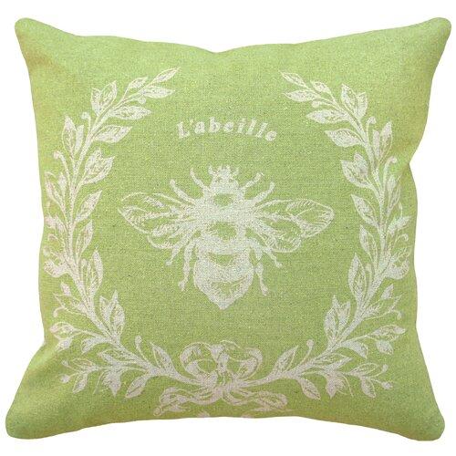 French Napoleon Bee 100% Linen Pillow