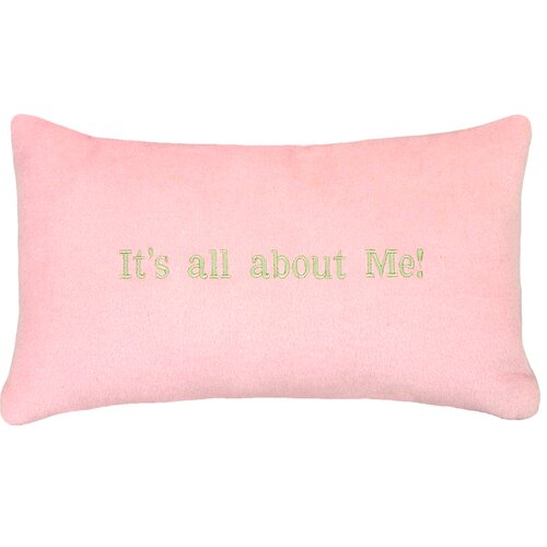 123 Creations It's All About Me…Cashmere Blend Pillow
