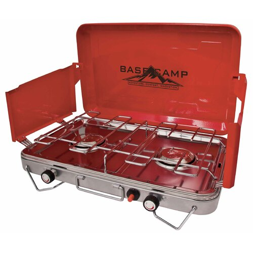 Basecamp Deluxe Two Burner Outdoor Stove