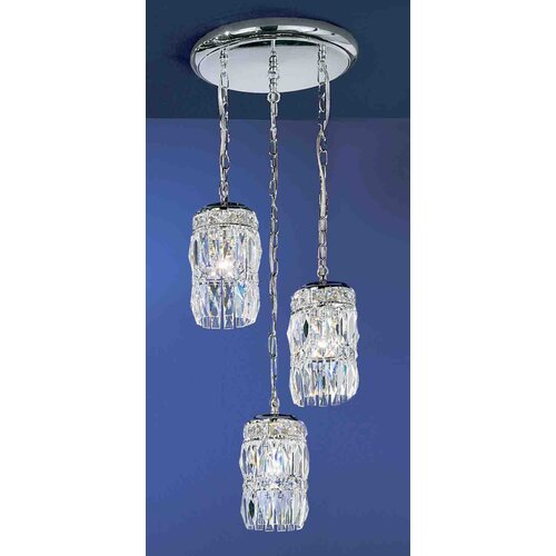 Classic Lighting Cascade 3 Light Chandelier