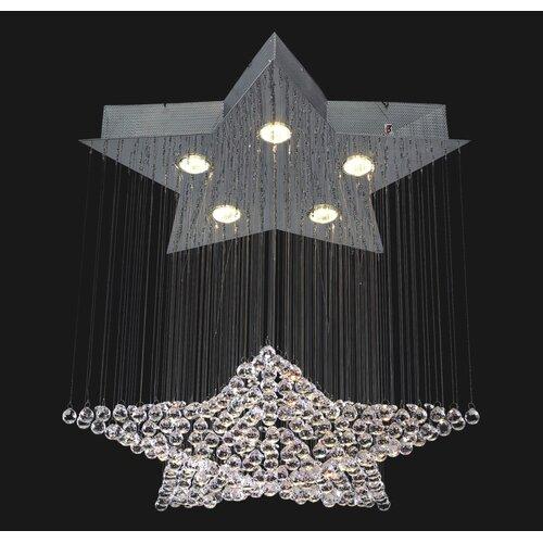 Corpi Celeste 5 Light Chandelier