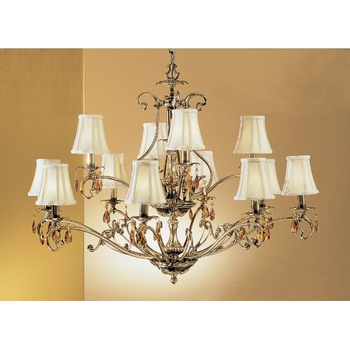 Classic Lighting Danube 12 Light Chandelier