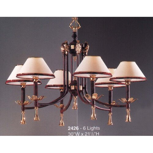 Classic Lighting Marbella 6 Light Chandelier
