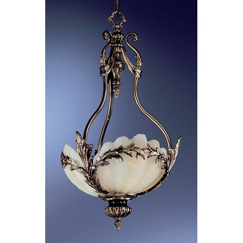 La Paloma 3 Light Inverted Pendant