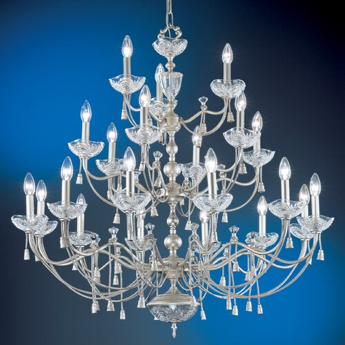 Classic Lighting Devonshire 21 Light Chandelier