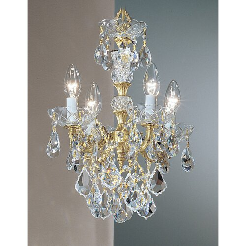 Madrid Imperial 4 Light Mini-Chandelier