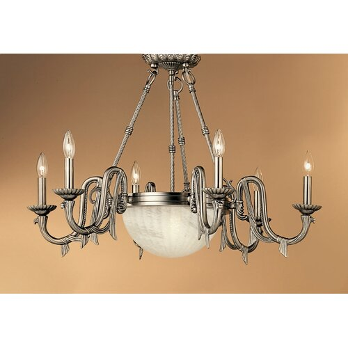 Classic Lighting St. Moritz 8 Light Chandelier